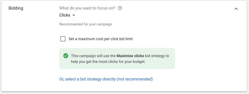 bidding-google-ads