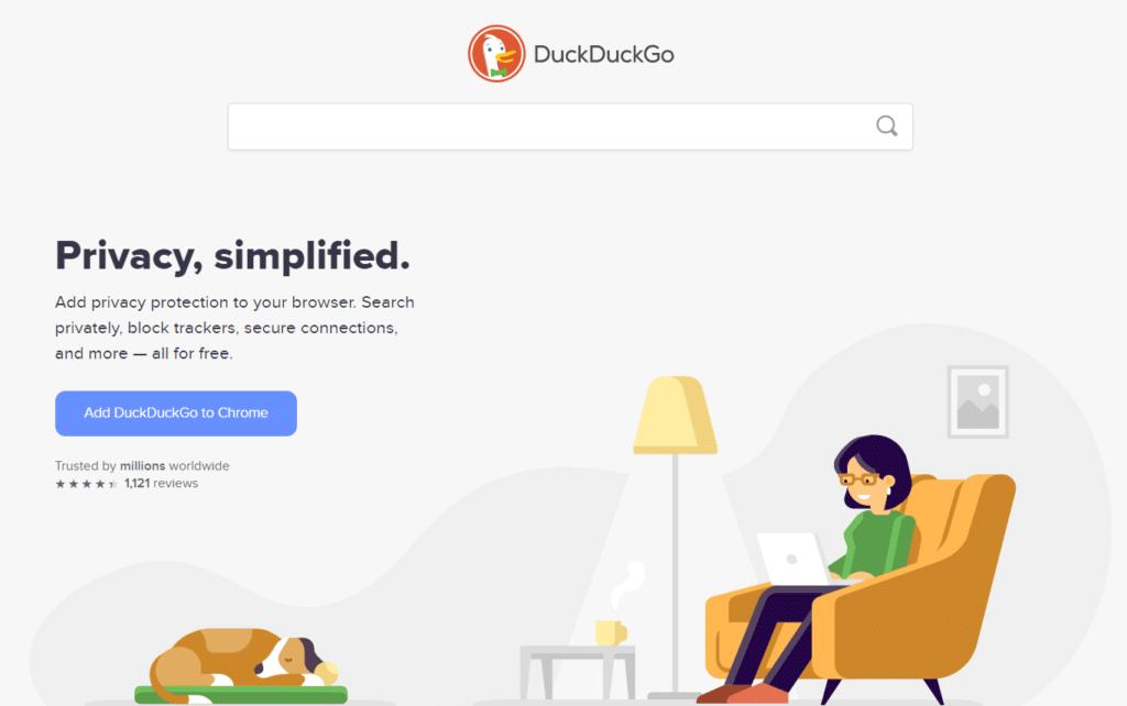 duckduckgo-search-engine