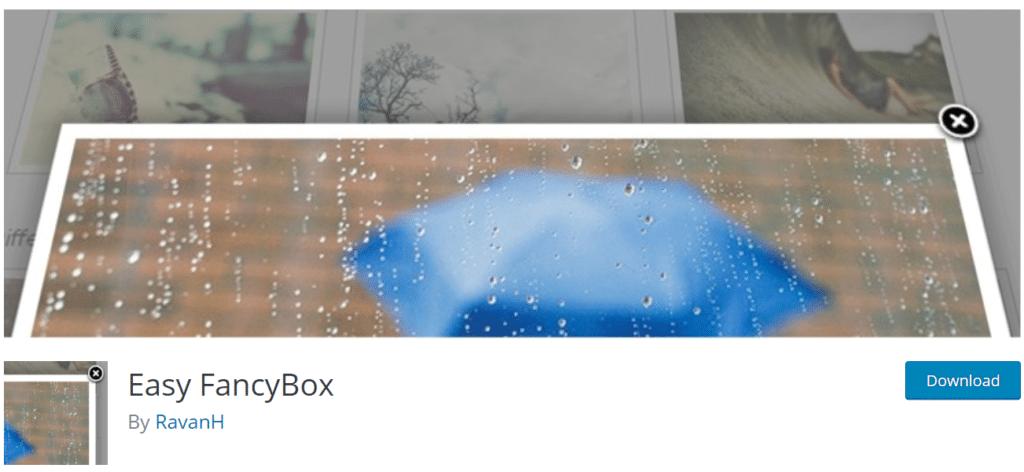 plug-in easy-fancybox-wordpress-lightbox
