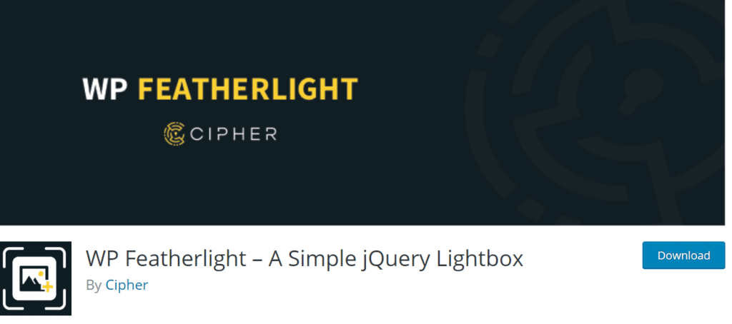 wp-featherlight-lightbox-popup-wordpress