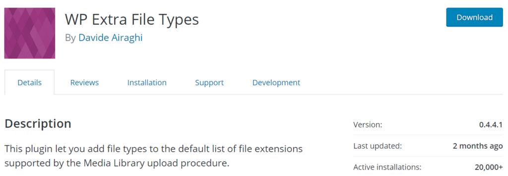 wp-extra-file-types