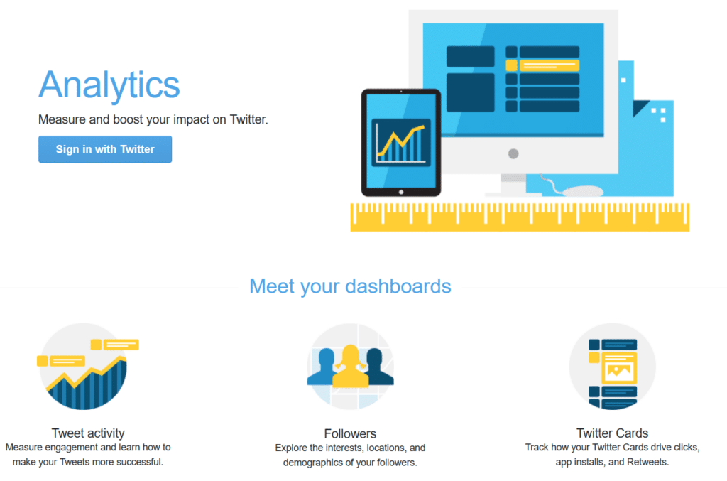 twitter analytics social media tracking