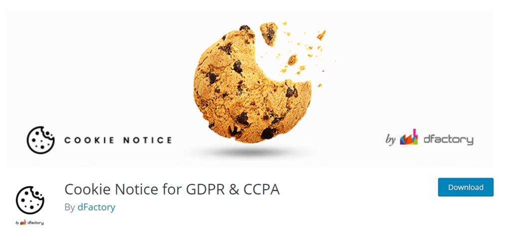 cookie notice best gdpr wordpress plugin