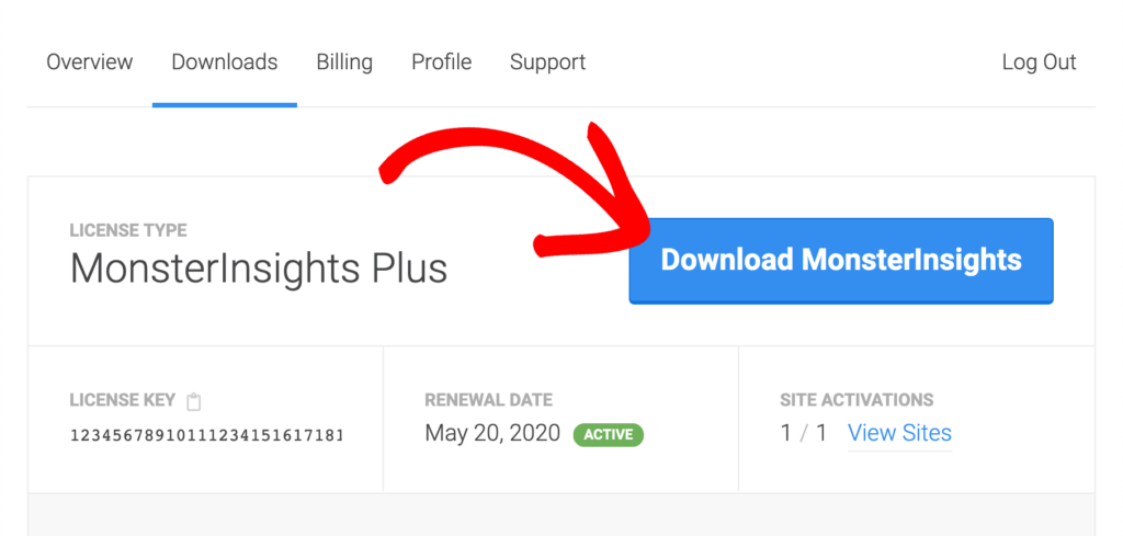 download monsterinsights