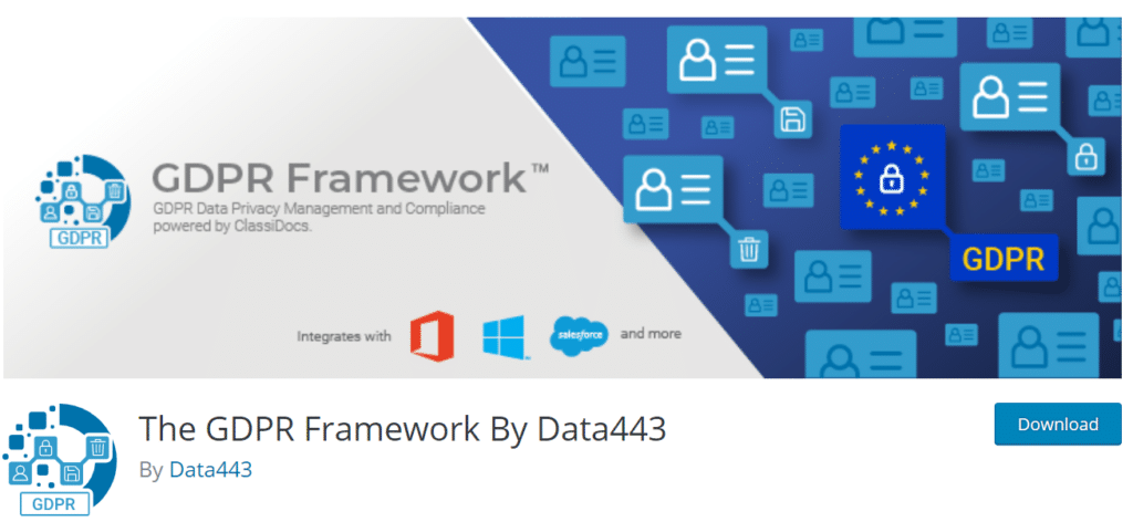 gdpr framework wordpress plugin
