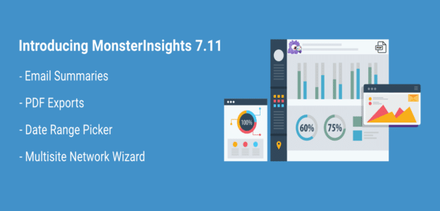 Introducing MonsterInsights 7.11 – New Date Picker, Email Summaries, & More