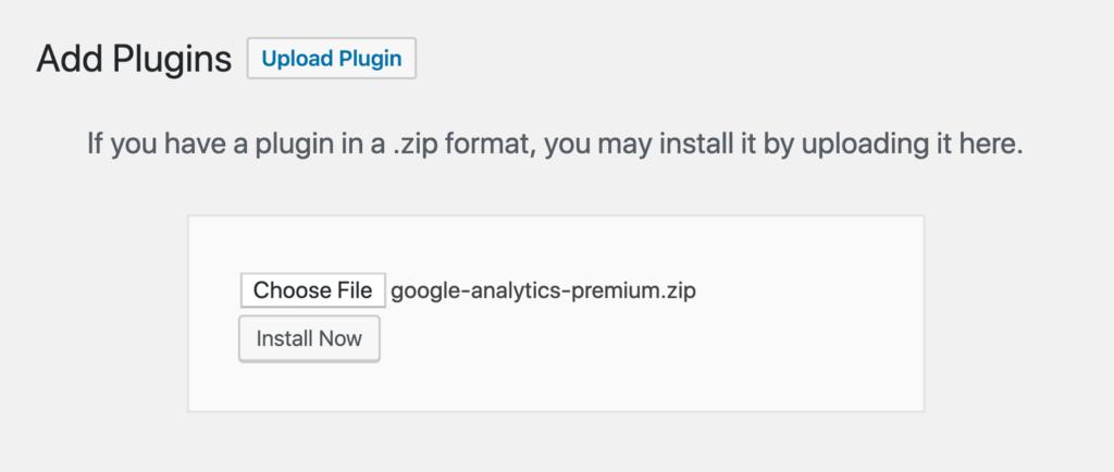 upload plugin in wordpress