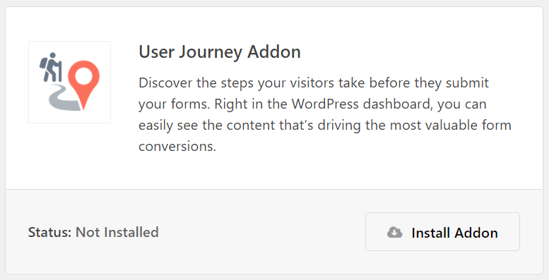 user journey addon wpforms