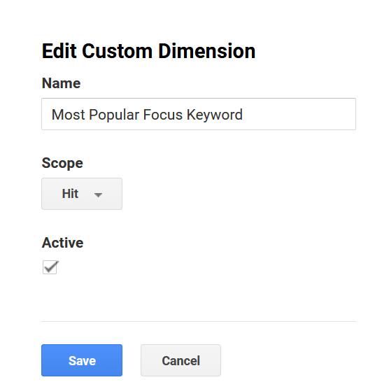 custom dimensions details