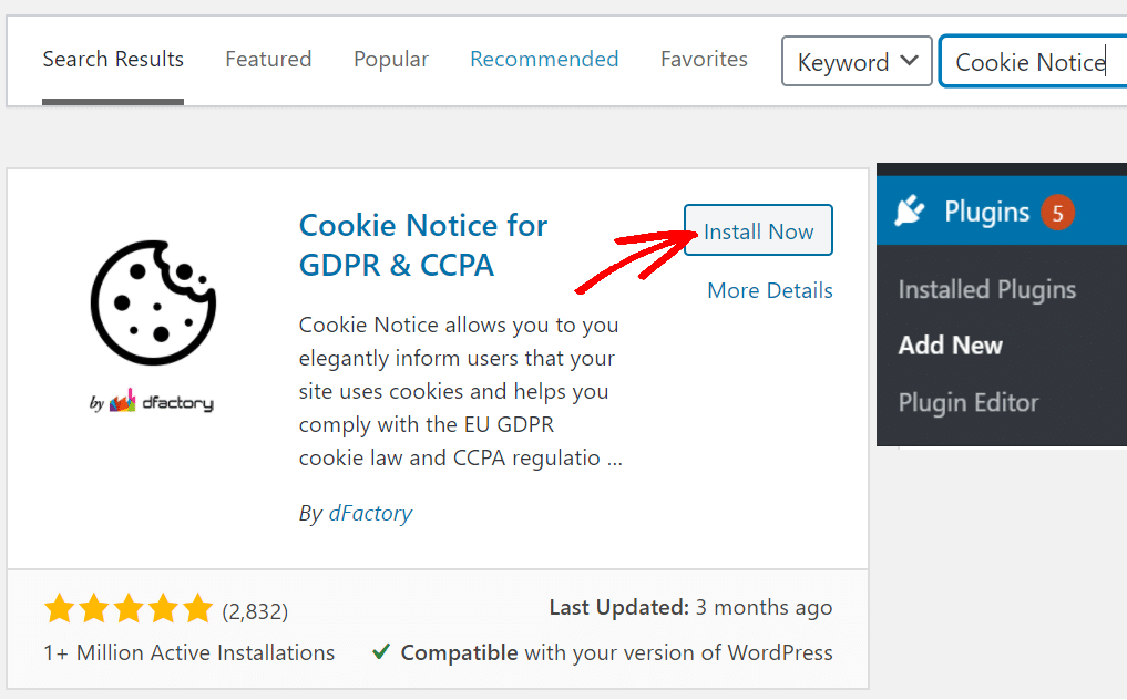 How To Set Up Wordpress Cookie Consent Notice Bar