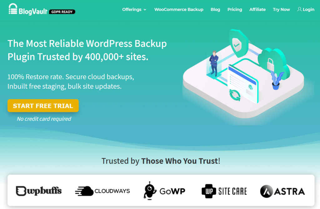 blogvault wordpress plugin backups