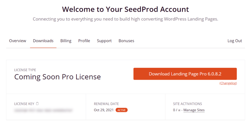 download seedprod
