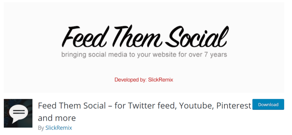 feed them social wordpress plugin