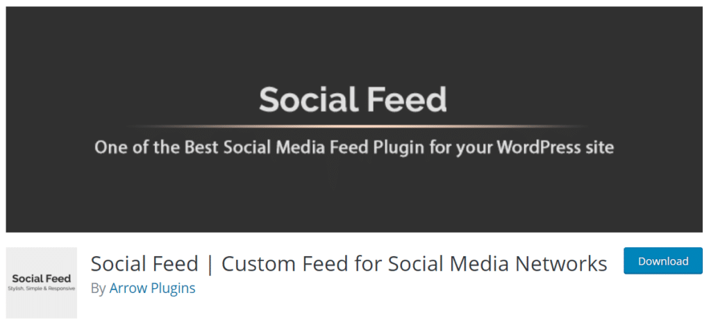 social feed plugin wordpress