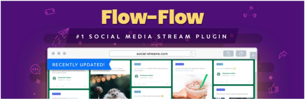 flow flow social stream social wall plugin