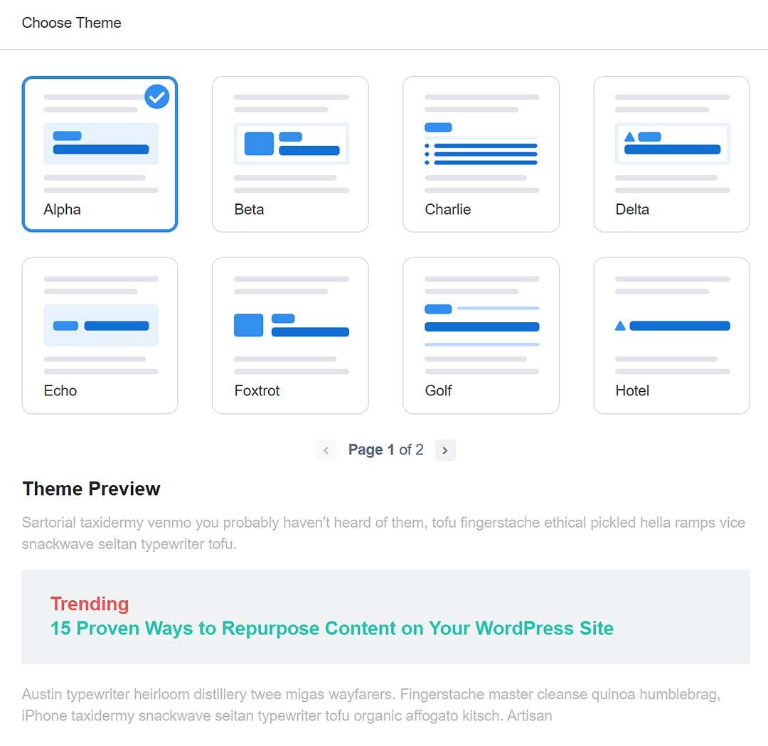 Inline Popular Posts themes