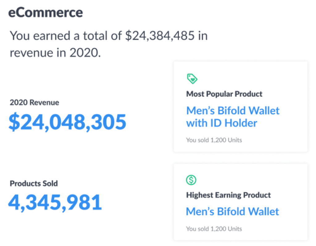 ecommerce year in review
