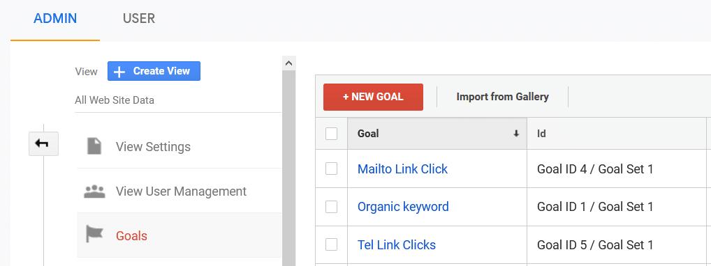 add new goal