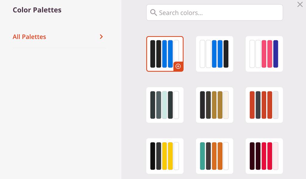 landing-page-color-palettes