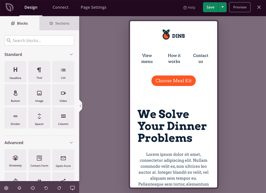 landing-page-mobile-preview