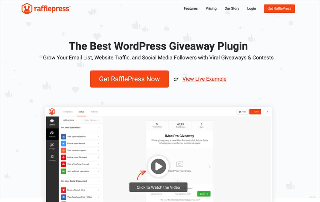 rafflepress-WordPress-giveaway-plugin