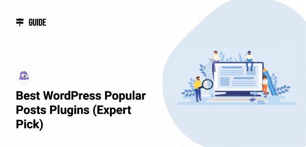 best popular posts plugins wordpress