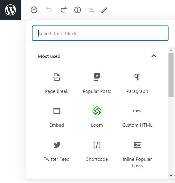 popular posts and shortcode block