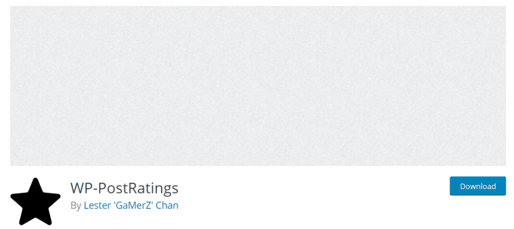 wp postratings plugin