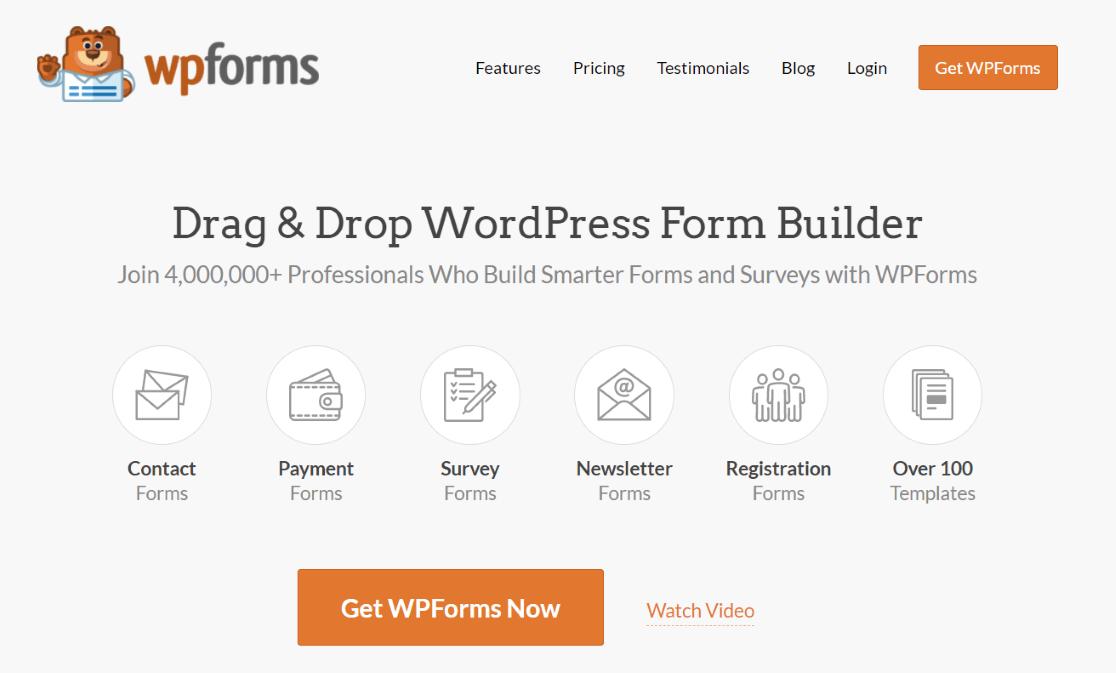 WP Forms: WordPress Forms Plugin