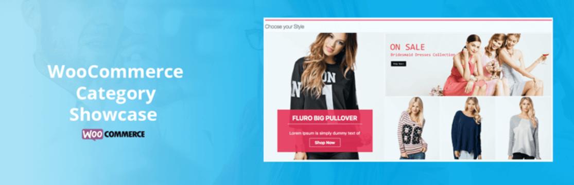 WooCommerce Category Showcase Plugin