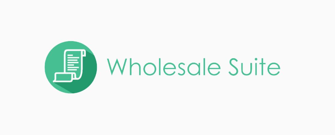 Wholesale Suite Plugin