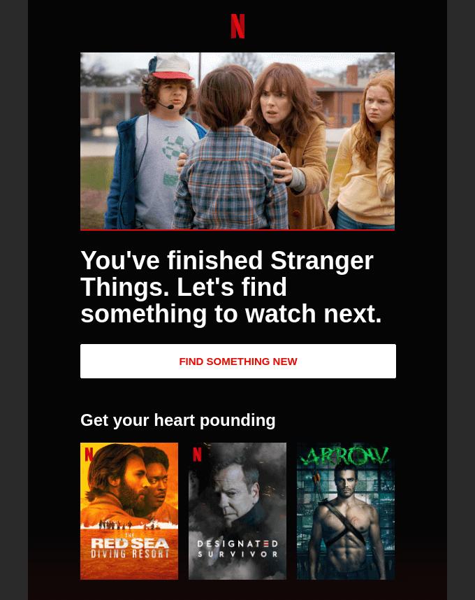 Netflix Reengagement Example